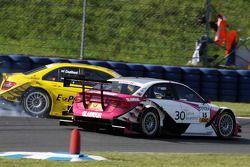 David Coulthard, Mücke Motorsport AMG Mercedes C-Klasse part en tête-à-queue