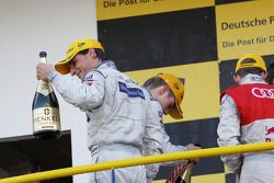 Podium: second place Bruno Spengler, Team HWA AMG Mercedes