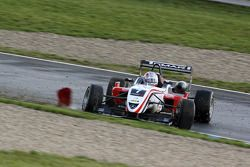 Nicolas Marroc, Prema Powerteam Dallara F308 Mercedes, part en tête-à-queue