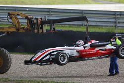 La voiture de Nicolas Marroc, Prema Powerteam Dallara F308 Mercedes