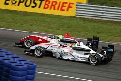 Alexander Sims, ART Grand Prix Dallara F308 Mercedes, Roberto Merhi, Mücke Motorsport Dallara F308 Mercedes