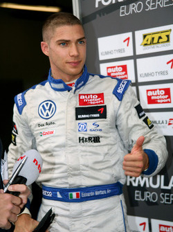 Kampioen Edoardo Mortara, Signature Dallara F308 Volkswagen