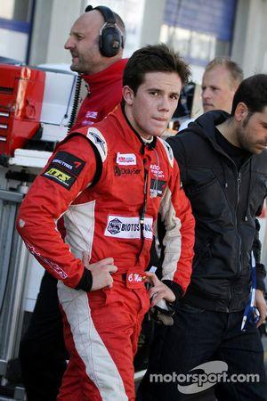 Carlos Munoz, Mücke Motorsport Dallara F308 Mercedes out of the race