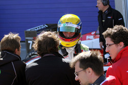 Race winnaar Jim Pla, ART Grand Prix Dallara F308 Mercedes