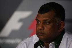 Tony Fernetes, Lotus F1 Team, Team Principal