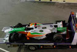 Wagen Adrian Sutil, Force India F1 Team