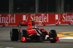 Jérôme d'Ambrosio, pilote d'essais Virgin Racing