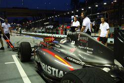Christian Klien,Hispania Racing F1 Team piloto de prueba