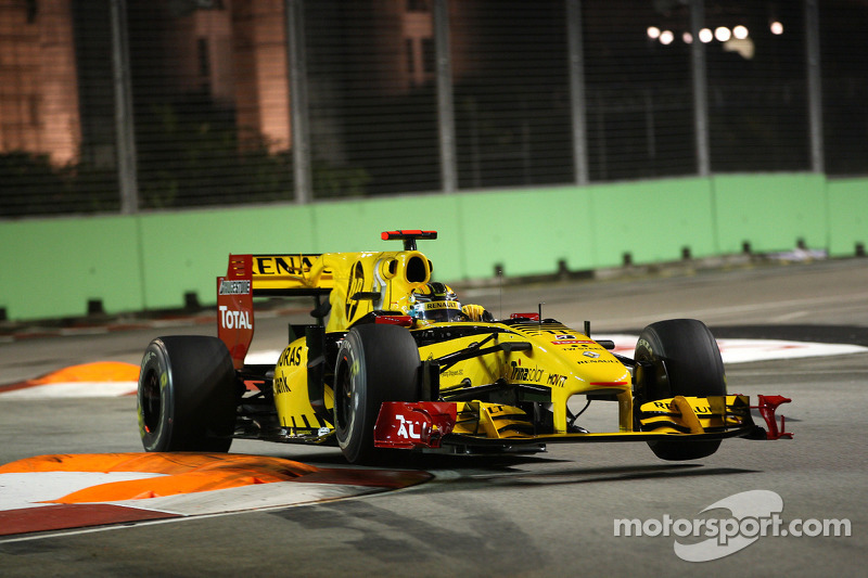 Robert Kubica, Renault F1 Team, Grand Prix Singapuru 2010