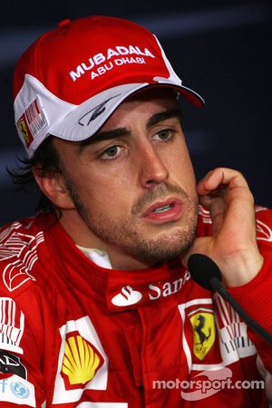 Ganador de la pole Fernando Alonso, Scuderia Ferrari