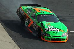 Danica Patrick after a crash