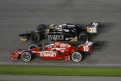 Dario Franchitti, Target Chip Ganassi Racing, Ed Carpenter, Panther Racing/Vision