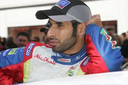 Khalid Al Qassimi et la Ford Focus RS WRC 08, BP Ford Abu Dhabi World Rally Team