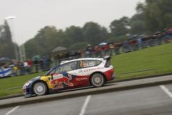 Dani Sordo et Diego Vallejo, Citroën C4 Citroën Total World Rally Team