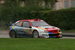 Yvan Muller et Gilles Mondesier, Citroën Xsara WRC