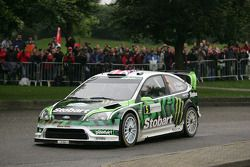 Matthew Wilson and Scott Martin, Ford Focus RS WRC 08, Stobart VK M-Sport Ford Rally Team