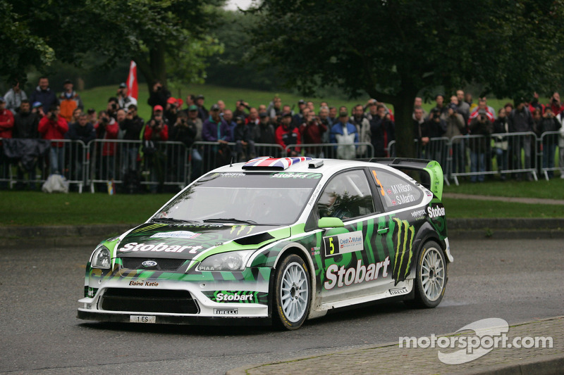 2010: Matthew Wilson y Scott Martin, Stobart VK M-Sport Ford Rally Team, Ford Focus RS WRC 08