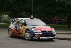 Sébastien Ogier en Julien Ingrassia en Citroën C4 WRC, Citroën Junior Team