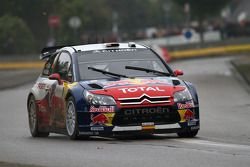 Dani Sordo and Diego Vallejo, Citroën C4 Citroën Total World Rally Team