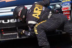 Arrêt au stand pour Patrick Carpentier, Latitude 43 Motorsports Ford