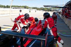 Pitstop #95 Level 5 Motorsports Oreca FLM09: Scott Tucker, Marco Werner, Burt Frisselle