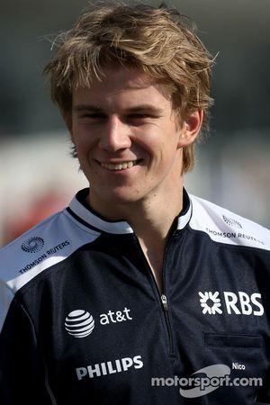 Nico Hulkenberg, Equipo Williams F1