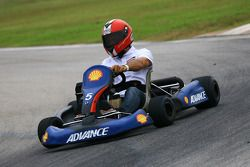 Pre-evento go-kart: Alex Criville