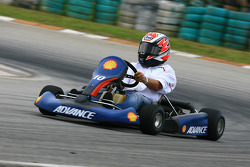 Evento previo go-kart: Angel Nieto