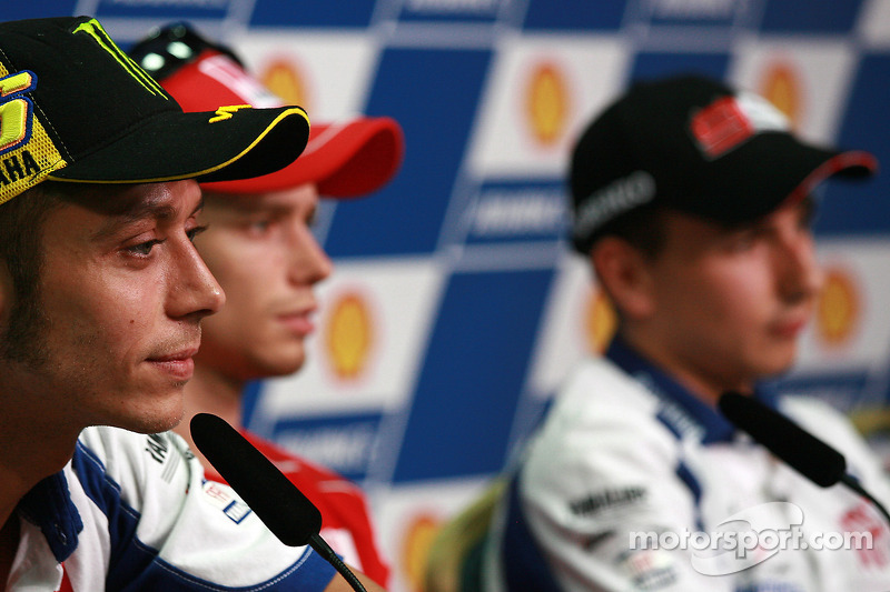 Conferencia de prensa previa al evento: Valentino Rossi, Fiat Yamaha Team