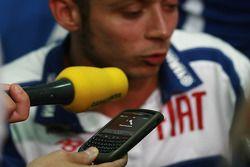 Pre-event press conference: Valentino Rossi, Fiat Yamaha Team