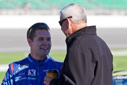 Ricky Stenhouse Jr and Dale Jarret
