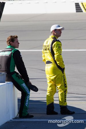 Trevor Bayne and Reed Sorenson