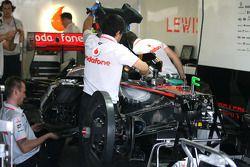 Monoplace de Lewis Hamilton, McLaren Mercedes