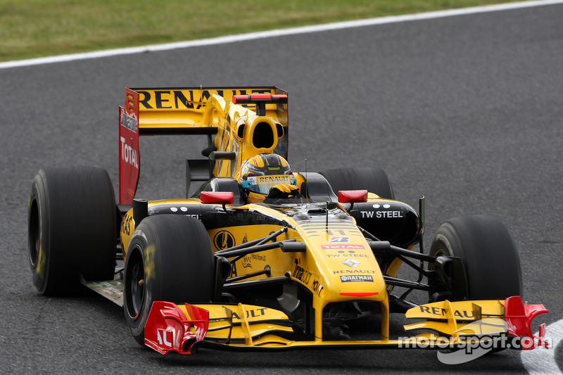 Robert Kubica, Grand Prix Japonii 2010