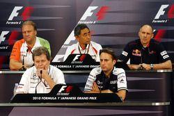 Robert Fearnley, Force India F1 Team, Norbert Haug, Mercedes Motorsport baas, Hiroshi Yasukawa, Brid