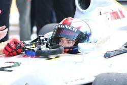 Race winnaar Brandon Wagner