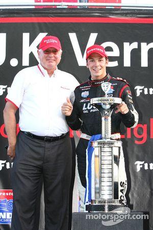 Le champion de la série, Jean-Karl Vernay