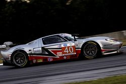 #40 Robertson Racing Doran Design Ford GT: David Robertson, Andrea Robertson, Craig Stanton