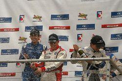 Carlos Huertas, Daniel McKenzie et Pietro Fantin