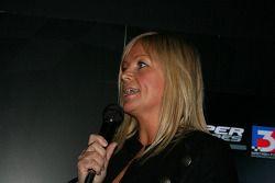 Diana Binks anime la soirée