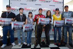 poleman Jamie McMurray, Earnhardt Ganassi Racing Chevrolet