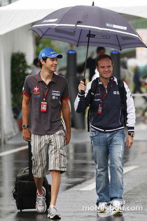 Bruno Senna, Hispania Racing F1 Team, Rubens Barrichello, Williams F1 Team