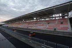 Un aperçu du travail de construction sur le Korea International Circuit