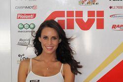 Una chica de LCR Honda MotoGP