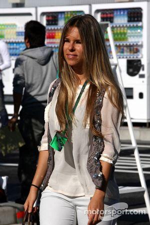 Vivian Sibold la novia de Nico Rosberg