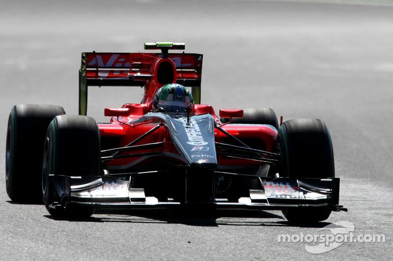 Mas o ano não foi nada bom. O carro não era competitivo e Di Grassi pouco pôde fazer para mostrar serviço, de modo que sua passagem pela F1 acabaria ali mesmo.