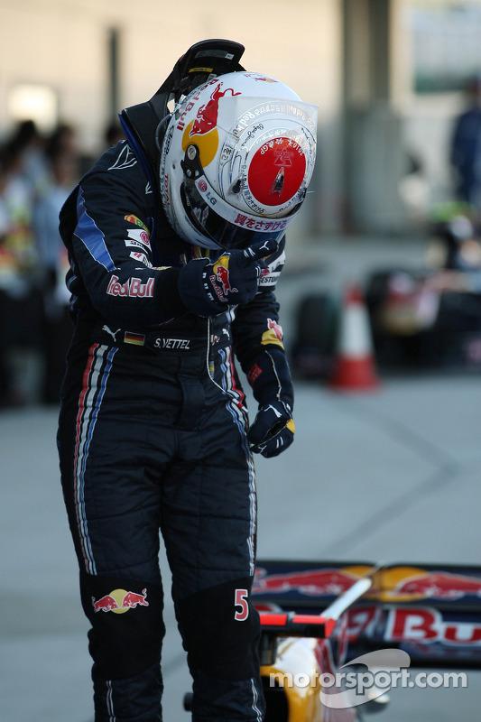 Sebastian Vettel en el GP de Japón 2010 (Red Bull)
