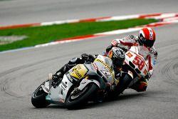 Hiroshi Aoyama, Interwetten Honda MotoGP y Marco Simoncelli, San Carlo Honda Gresini