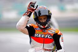 Segundo lugar Andrea Dovizioso, Repsol Honda Team
