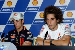 Pre-event press conference: Marco Simoncelli, San Carlo Honda Gresini